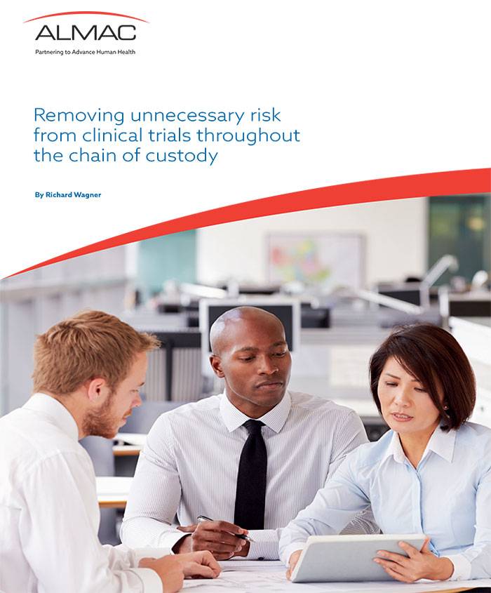 Removing Unnecessary Risk From Clinical Trials Throughout The Chain of Custody