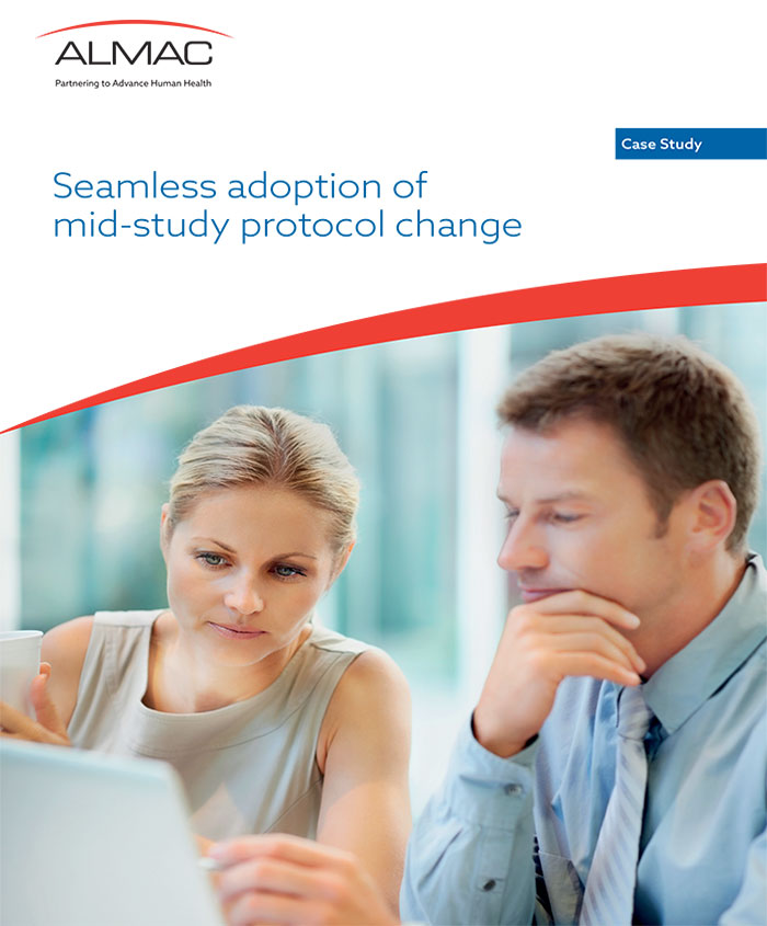 Seamless Adoption of Mid-Study Protocol Change