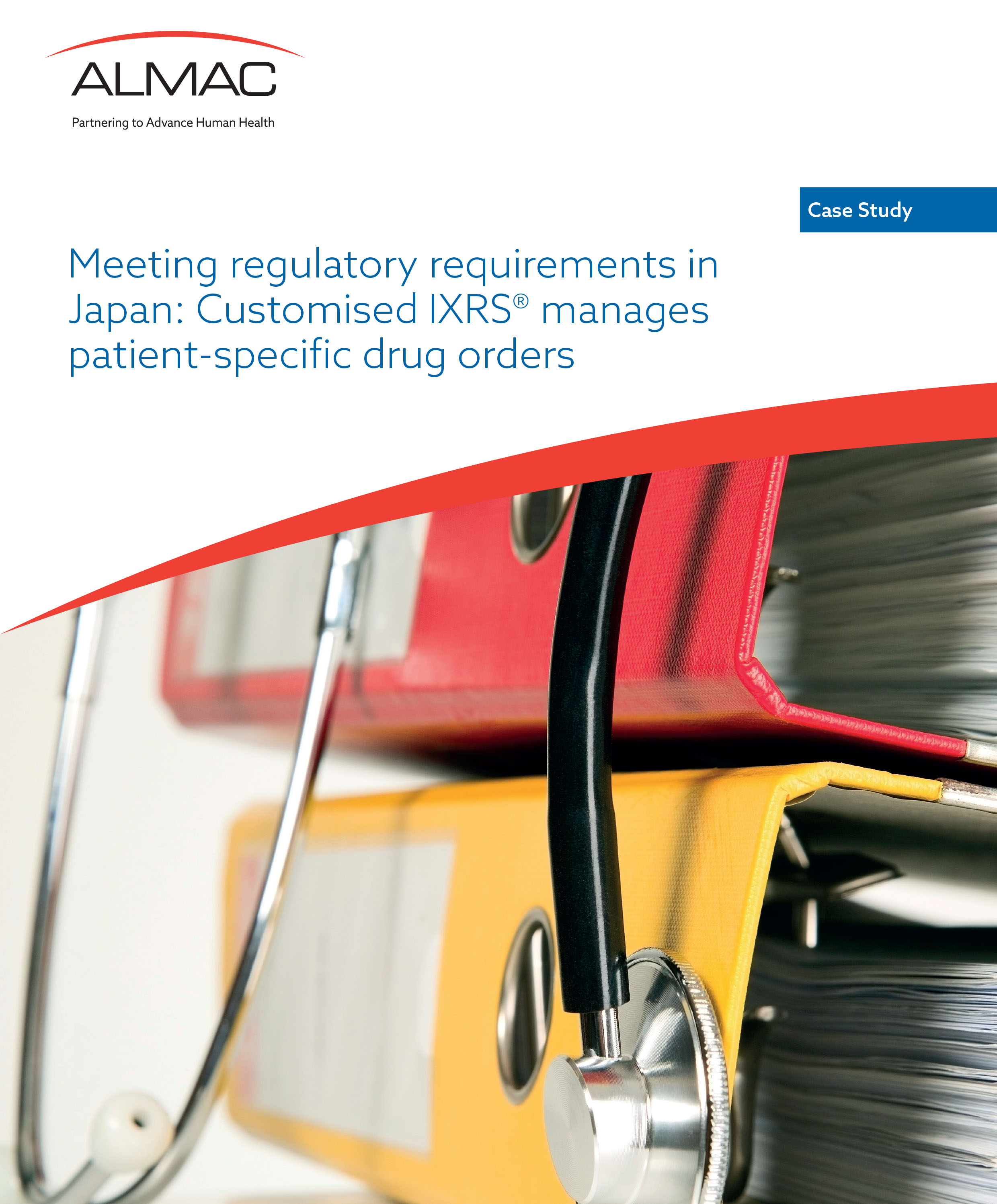 Meeting Regulatory Requirements In Japan: Customised IXRS® Manages Patient-Specific Drug Orders
