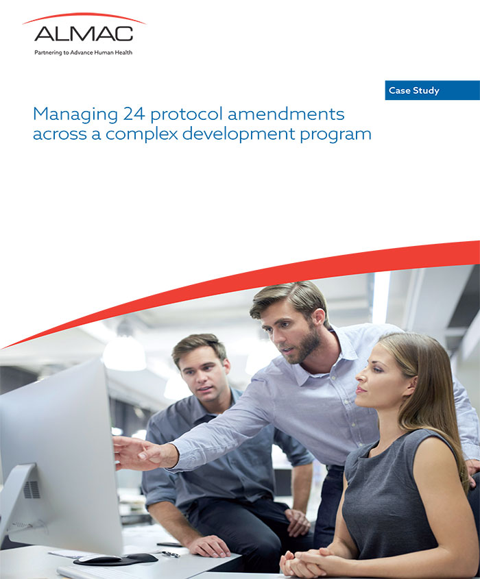 Managing 24 Protocol Amendments Across A Complex Development Program