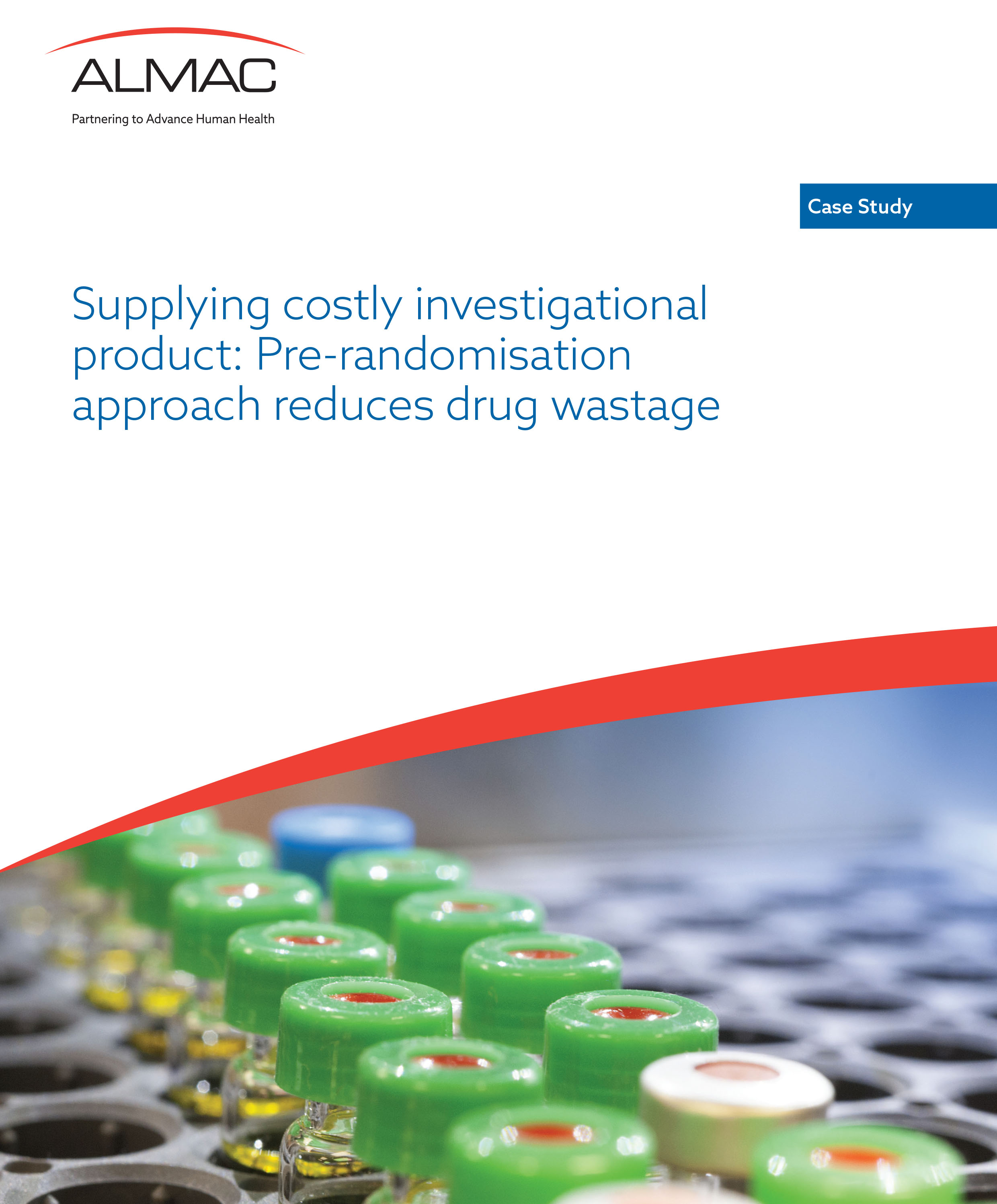 Supplying Costly Investigational Product: Pre-Randomisation Approach Reduces Drug Wastage