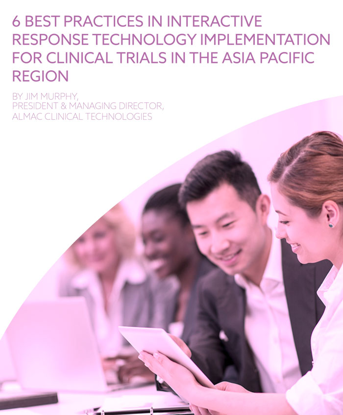 6 Best Practices In Interactive Response Technology Implementation For Clinical Trials In The Asia Pacific Region