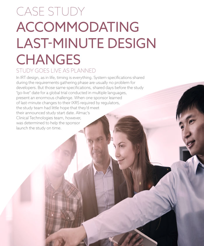 Accommodating Last-Minute Design Changes