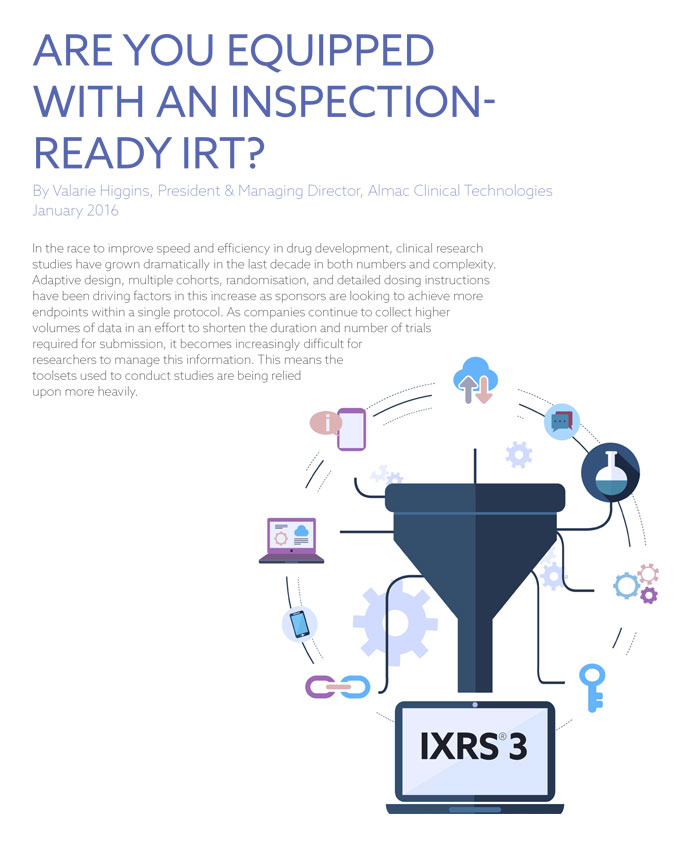 Are You Equipped With An Inspection-Ready IRT?
