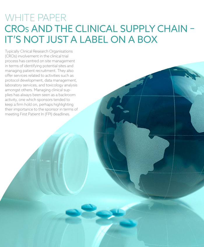 CROs and Clinical Supply Chain