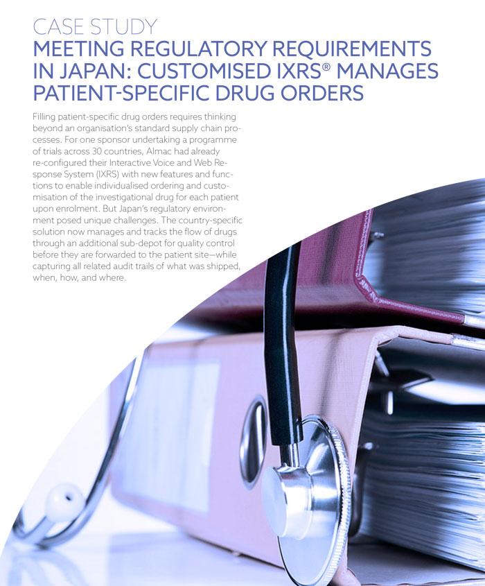 Meeting Regulatory Requirements In Japan IXRS