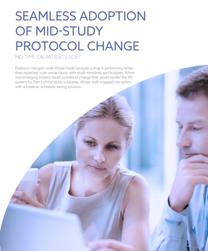 Seamless Adoption of Mid-Study Protocol Change