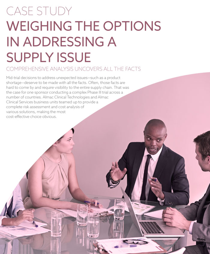 Weighing The Options In Addressing A Supply Issue