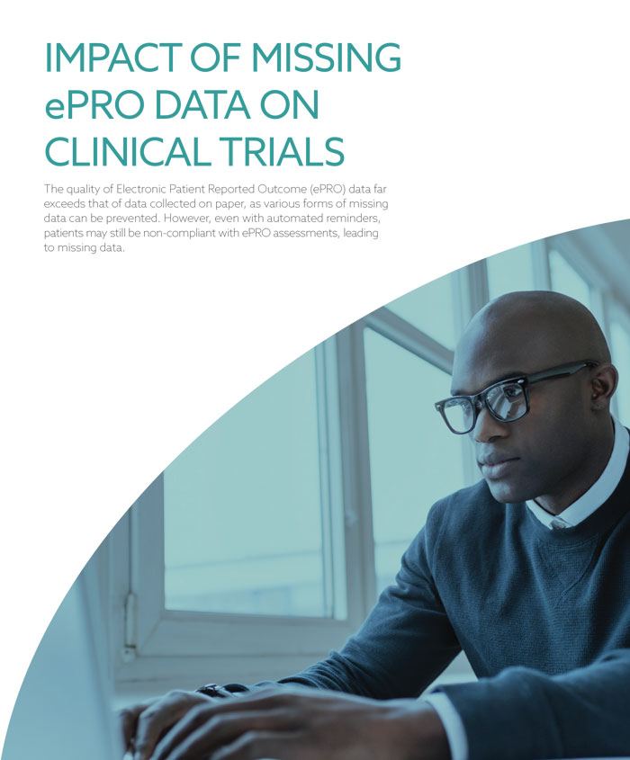 Impact of Missing ePRO Data Clinical Trials