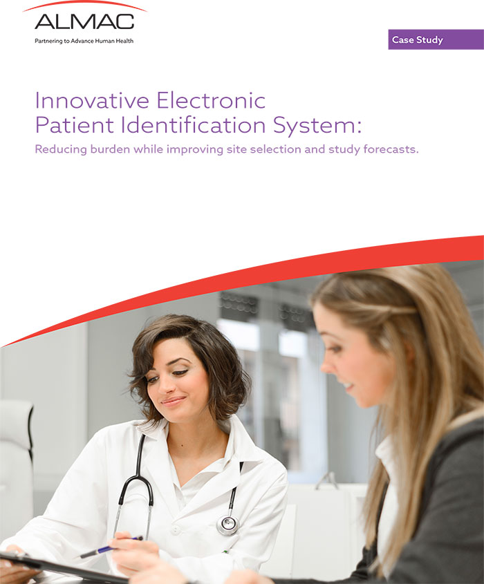 Innovative Electronic Patient Identification System: Reducing Burden While Improving Site Selection and Study Forecasts