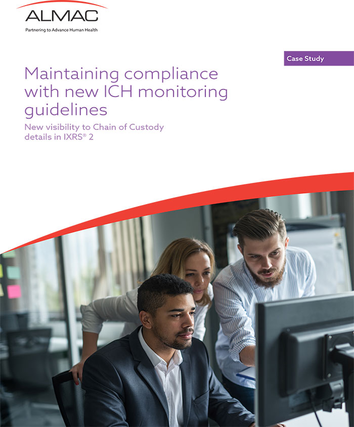 Maintaining compliance with new ICH monitoring guidelines