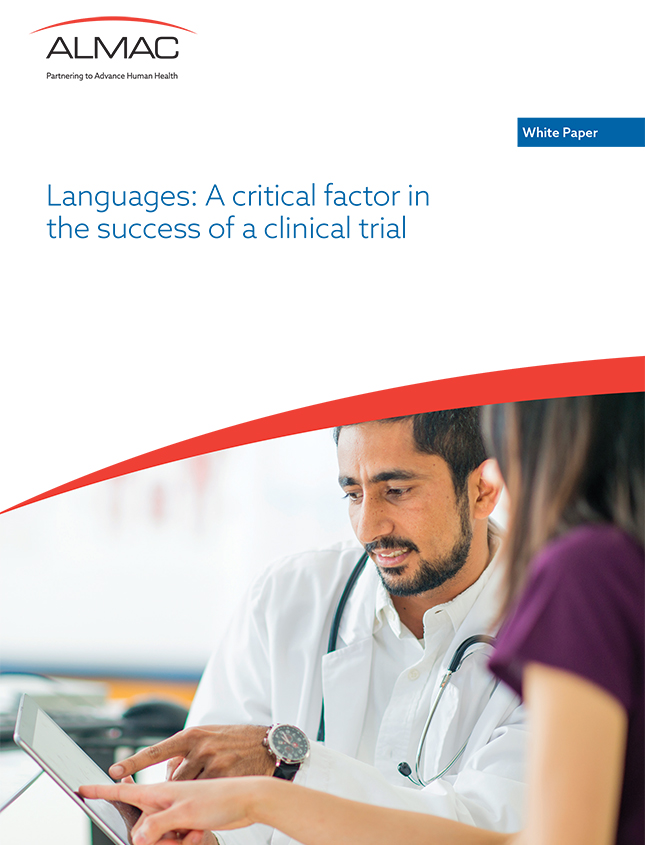 Languages: A critical factor in the success of a clinical trial